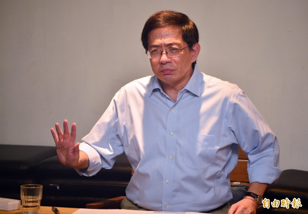 管中閔被爆涉赴中國廈門大學等學校長期違法兼職。(資料照)