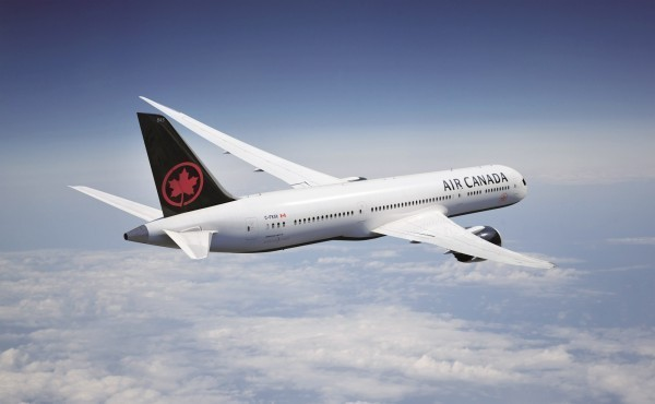 加拿大航空6日與中國簽訂合作關係。(加拿大航空提供)