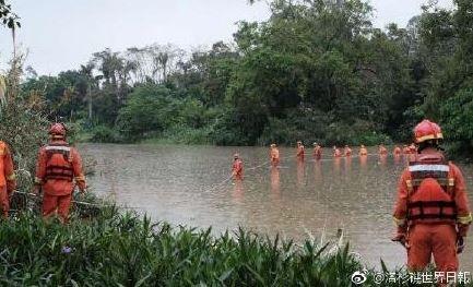 深圳河道清淤工程發生重大傷亡,疑似施工單位存僥倖心理而低估大雨。(圖擷自微博)