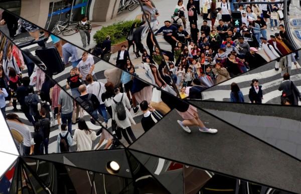 日本東京為全世界最擁擠的城市之一,目前東京都會圈人口已高達3800萬人。(路透)