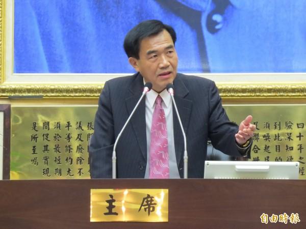台南市議長李全教議員當選無效之訴今日一審宣判,合議庭今判李當選無效。(資料照,記者蔡文居攝)