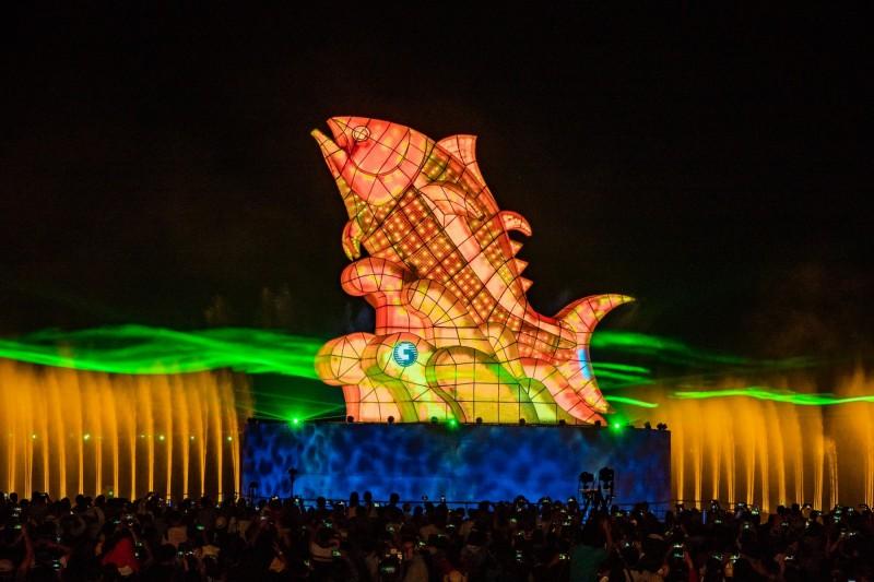 台灣燈會今天開幕。(觀光局提供)