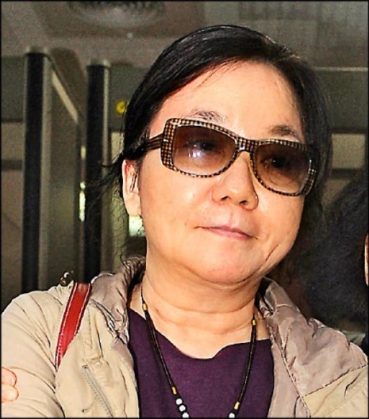 停職中的高檢署女檢察官陳玉珍。(資料照)