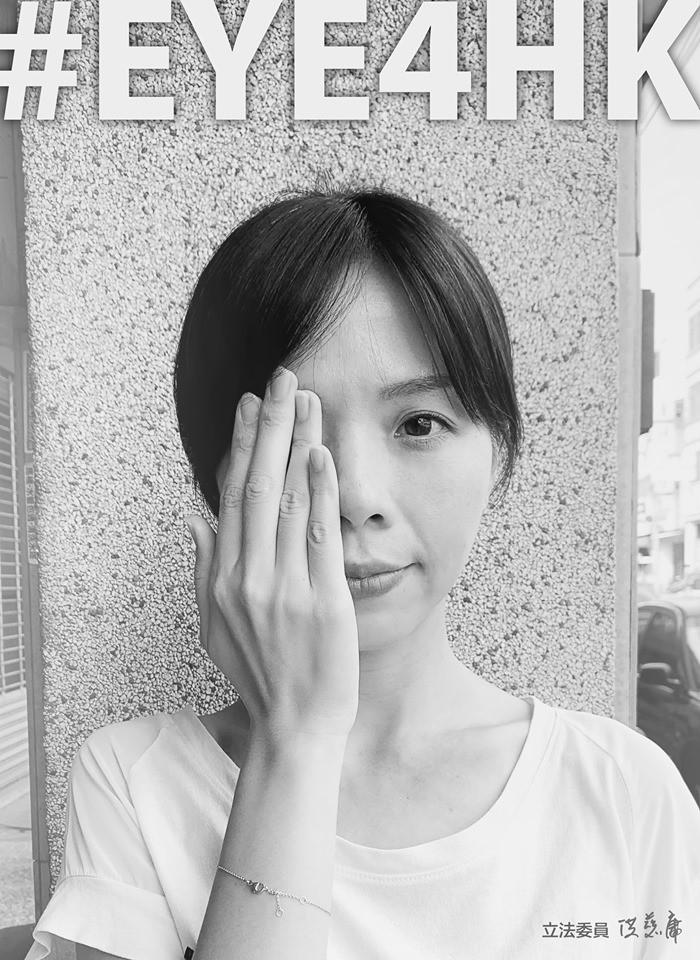 洪慈庸也在臉書上響應活動,呼籲大家生源香港民主。(圖取自洪慈庸臉書)