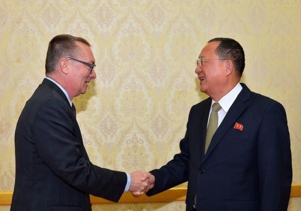 聯合國副秘書長費特曼於昨日結束在北韓的訪問行程。(資料照 路透)