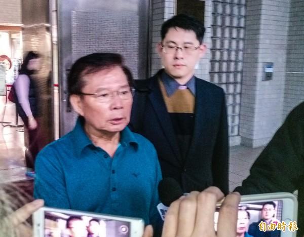 簡太郎被控施壓慶富聯貸案,高雄地檢署認為罪證不足,簽結。(資料照)