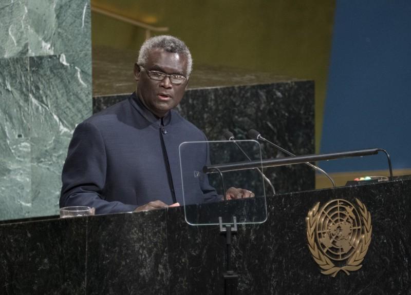 當地媒體爆,索國總理蘇嘉瑞瓦將缺席聯合國大會,轉往中國討論建交。(美聯社)