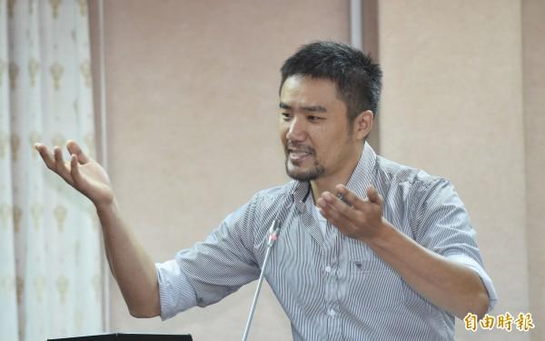 陳志明為現任時代力量新北黨部執行長。(資料照,記者劉信德攝)