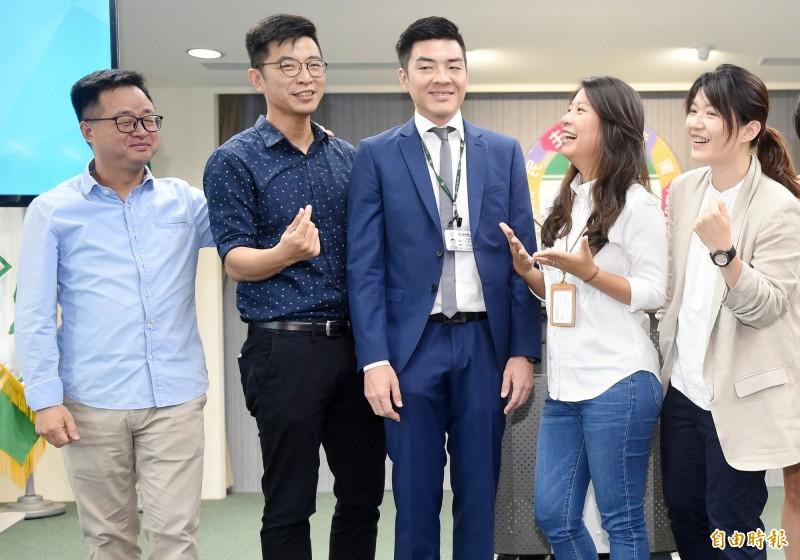國際青年日 民進黨公布黨務主管新人事