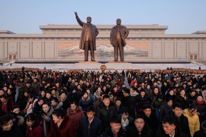 北韓本周末要舉行最高人民會議選舉。(法新社)