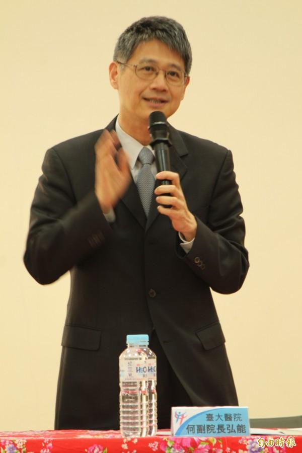 台大醫院院長由現任副院長何弘能接任,預定8月1日交接。(資料照,記者黃美珠攝)