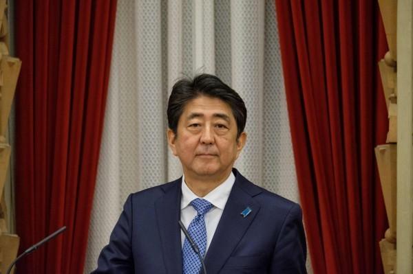 日本首相安倍晉三。(法新社)