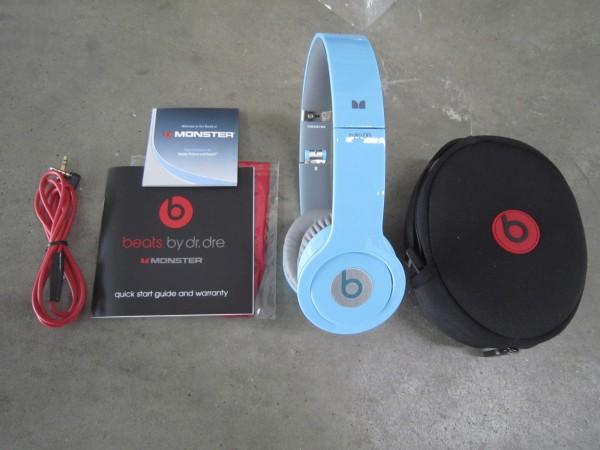 美國老牌音響設備公司「博士」,今天狀告美國潮流耳機品牌Beats,指控Beats侵犯其消除噪音的專利技術。此為Beats耳機示意圖。(路透)