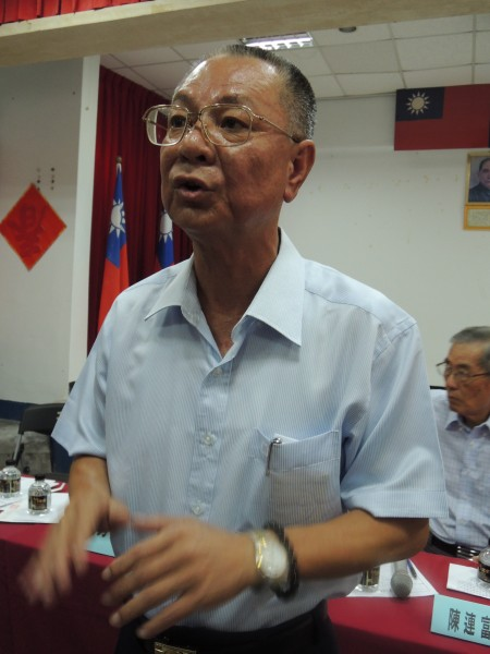 馬公市長蘇崑雄即將代表藍營出征縣長寶座對於選舉表示有勝選信心(記者劉禹慶攝)
