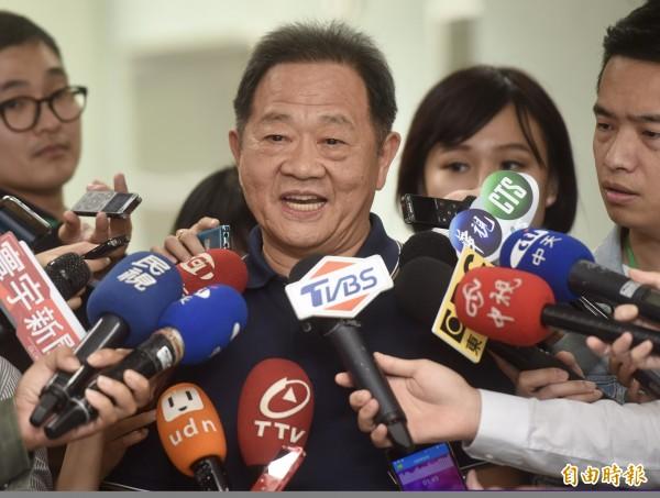 無黨籍候選人李錫錕。(資料照,記者簡榮豐攝)