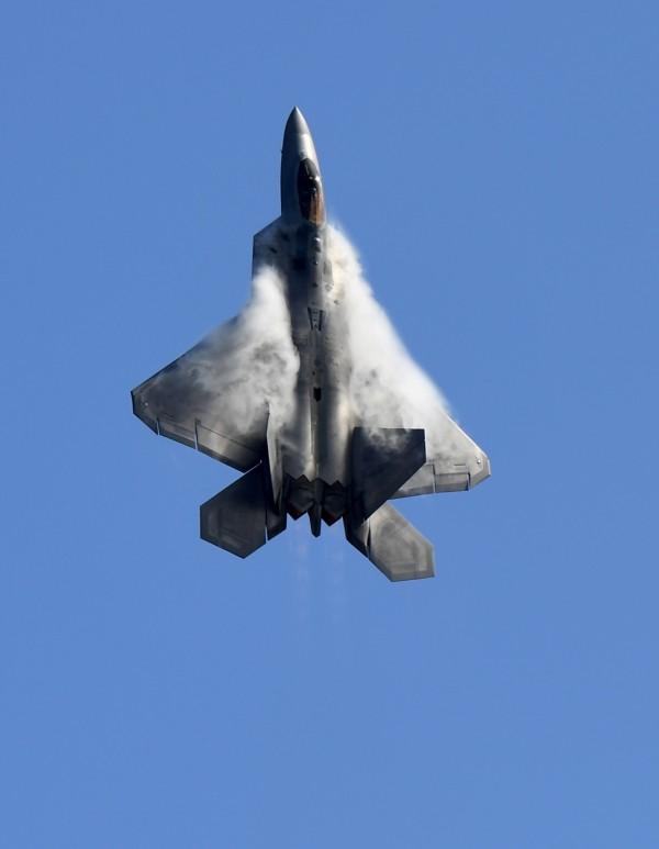 F-22猛禽戰鬥機(法新社)