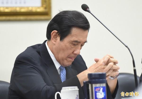 前總統馬英九涉嫌賤賣國民黨產三中案遭台北地檢署起訴,關鍵會議錄音檔首度被週刊曝光。(資料照)