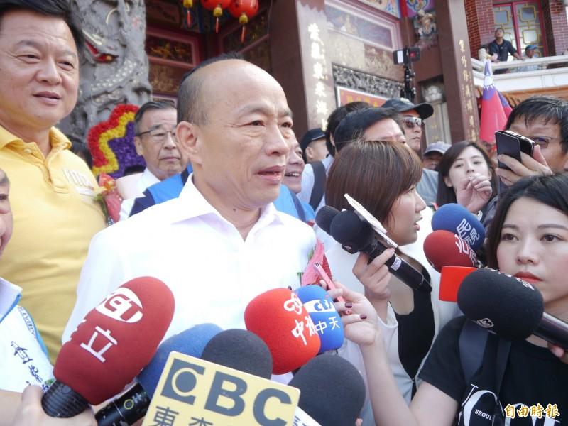 因應明年總統大選,國民黨規劃按照行業、社團類別幫總統參選人韓國瑜成立至少60多個國內後援會。(記者張軒哲攝)