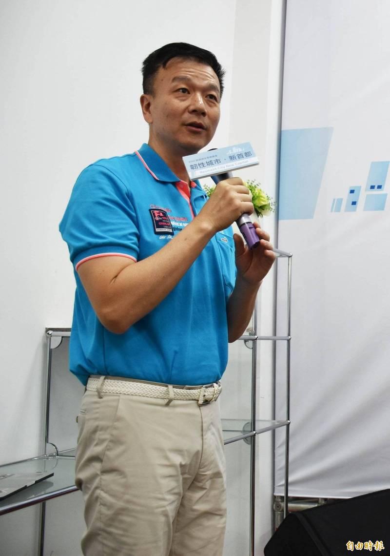 遭國民黨免職的前黃國園支黨部主委于北辰。(資料照)