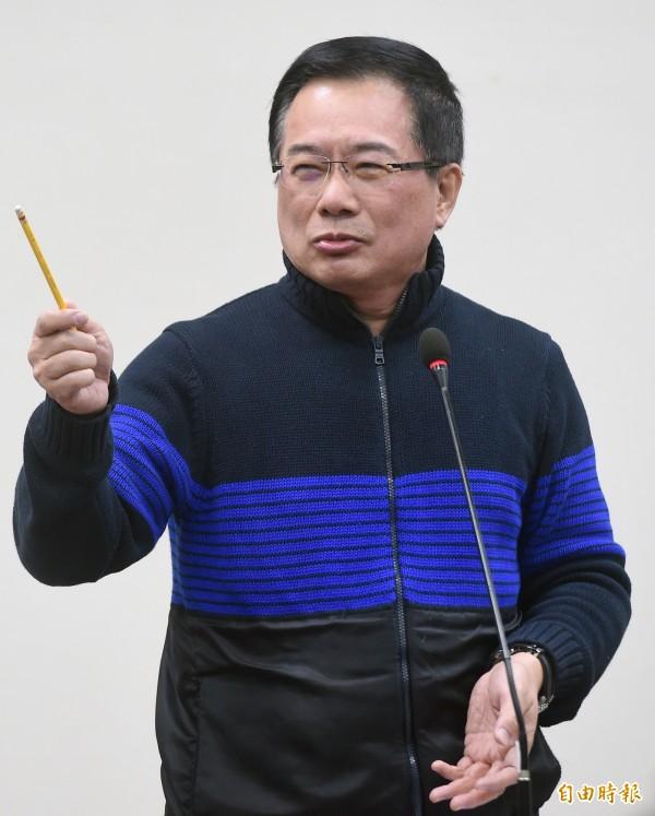 蔡正元被臉書刪文,甚至被禁止發文3天。(資料照,記者廖振輝攝)