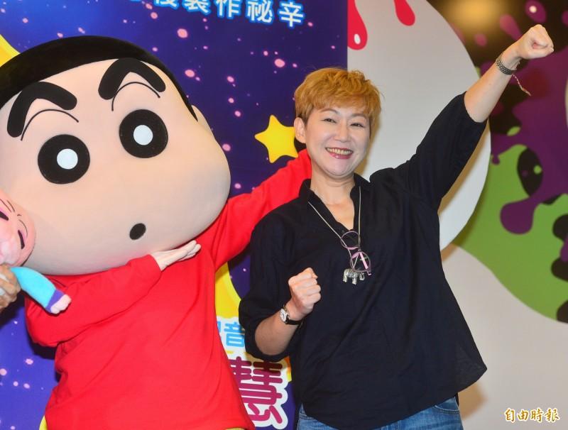 蔣篤慧為「小新」野原新之助配音超過10年,是許多台灣人童年的回憶。(資料照)