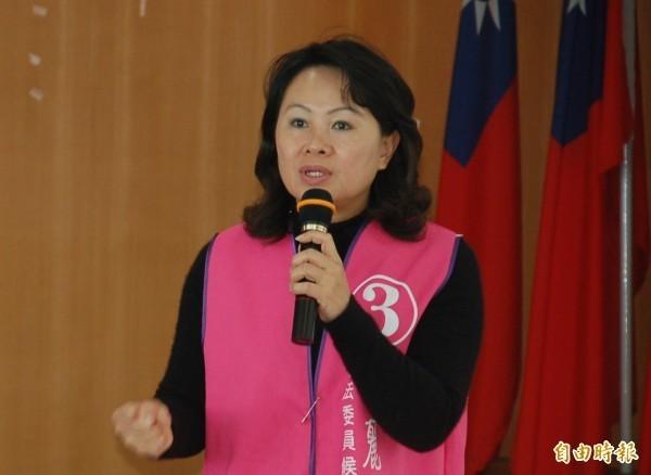 鄺麗貞消失14天首度露面,13日接受電視台專訪時強調會參選台東縣長到底。(資料照)