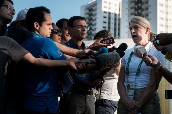 澳洲代表團負責人琪勒發聲明指出,里約奧運選手村狀況太糟,問題解決前不會讓澳洲奧運代表團入住。(法新社)