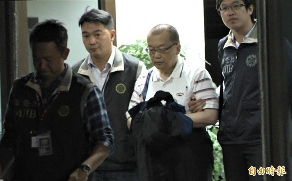 台灣民政府不止被控違法吸金,還被控違反國家安全法之發展組織罪。圖台灣民政府秘書長林志昇。(資料照)