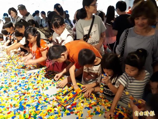 「新竹300博覽會」吸引超過25萬人次參觀,很多民眾希望這樣的博覽會能成常態。(記者洪美秀攝)