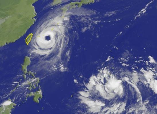 美氣象專家預告準颱風康芮將成為今年第9個侵襲日本的颱風。(圖擷取自中央氣象局)