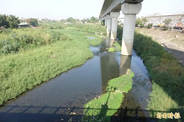 中央核定前瞻計劃1.38億筏子溪經費景觀環境營造,月底動工。(記者廖耀東攝)