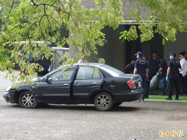 莊嫌開車載著屍體到處亂晃,因為自撞才被發現。(資料照)