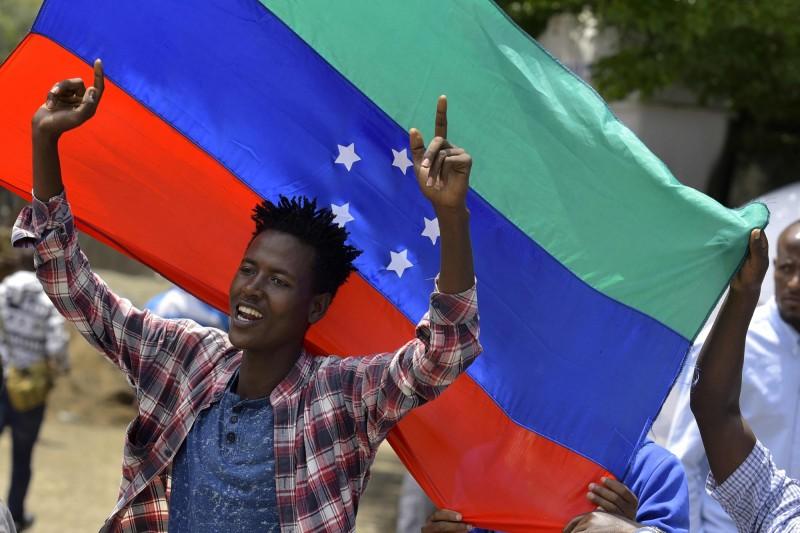 衣索比亞南方少數民族錫達馬(Sidama)上週四(18)宣布自主建州,後與維安部隊發生激烈衝突。(法新社)