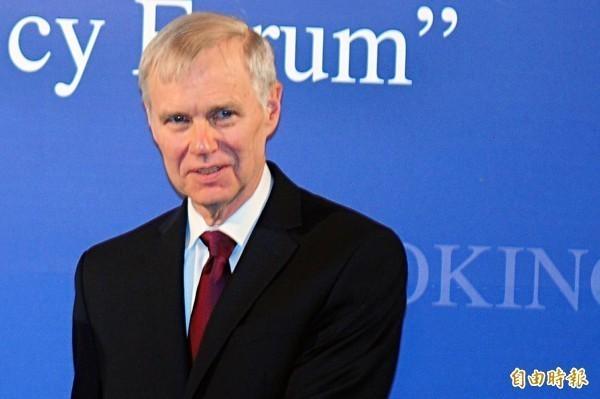 美國在台協會(AIT)前理事主席、現任華府智庫「布魯金斯研究院」東亞研究中心資深研究員的卜睿哲(Richard Bush)。(資料照)