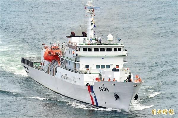 台南艦由中信造船廠打造。(資料照)