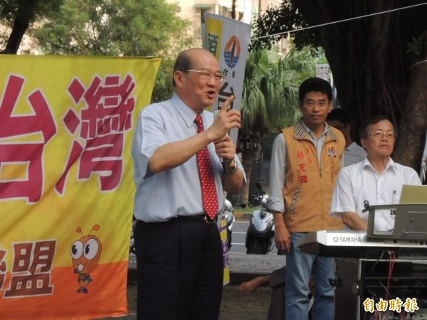 黃昆輝表示,中國以商逼政,馬政府卻忽視中國的不安好心。(資料照,記者王榮祥攝)