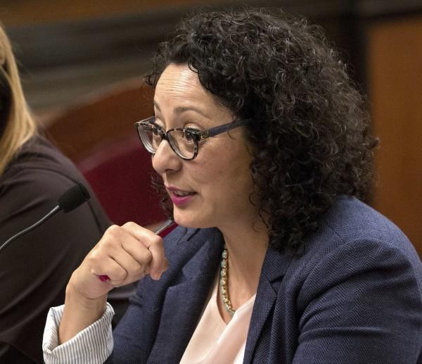 身為#MeToo反性侵運動重要推手之一的加州州議會眾議院民主黨女議員嘉西亞,最近竟被披露曾是性騷擾的加害者。(美聯社)