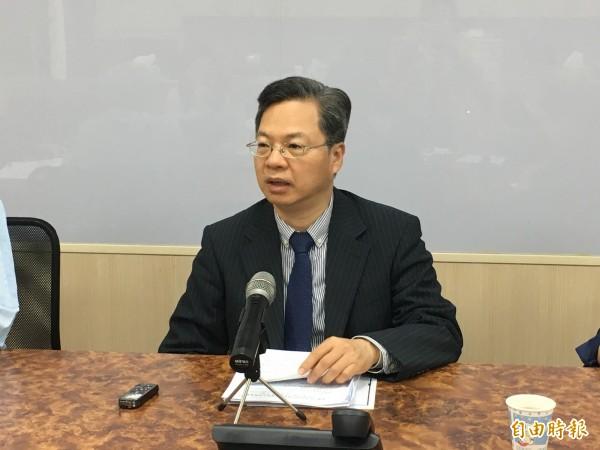 經濟部次長龔明鑫將轉任行政院政務委員。(資料照)