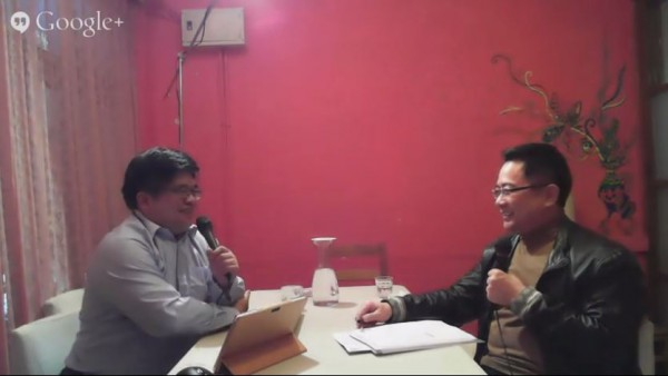 國民黨立委蔡正元昨日晚間接受金寶電台訪談時,針對國民黨究竟倒不倒的問題提出看法,表示「沒有不會倒的政黨,只是時間未到而已」。(照片擷自YouTube)