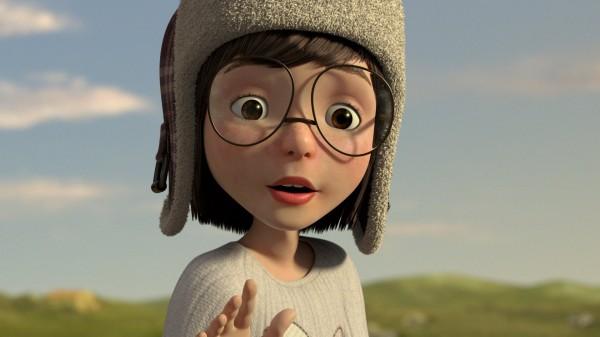 「夢翔」(Soar)一片內容講述1名小女孩在多次失敗之後,終於成功的幫助1名迷你飛行員重返天空。(圖截自SOARfilm臉書)