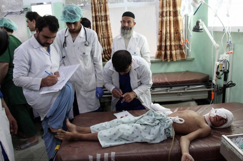SCA表示,他們在瓦爾達克省有77家衛生醫療中心。(歐新社)