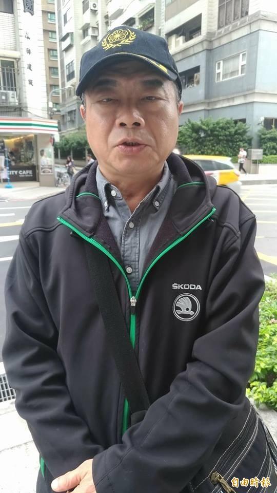 中華統一促進黨成員李承龍。(資料照)