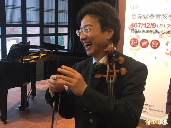 大提琴演奏家張正傑表示,吳寶春的行為「完完全全是商業」。(資料照)