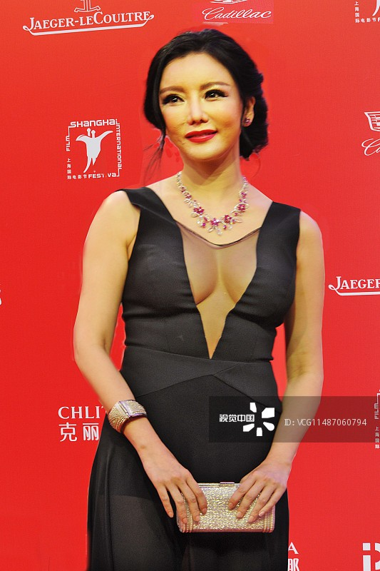 中國女艷星波神彭丹。(翻攝自視覺中國)