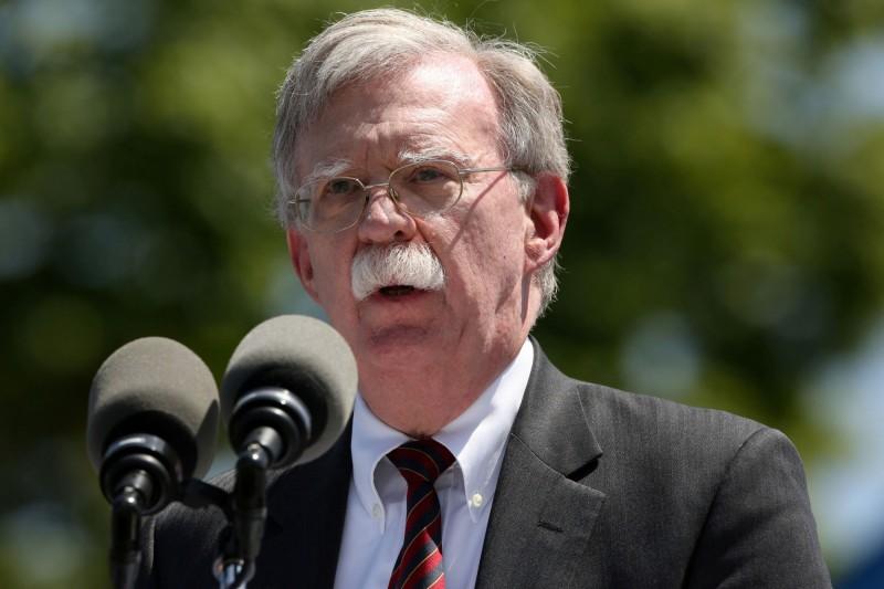 美國國家安全顧問波頓(John Bolton),本月與我國國安會秘書長李大維會面。(路透社)