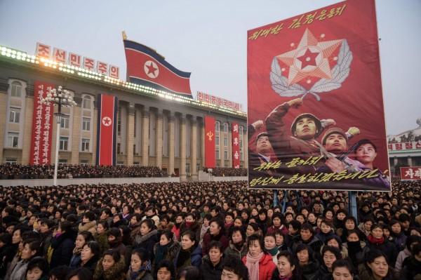 北韓近期正強化肅正綱紀,不斷洗腦人民得放棄「對南韓的依賴心」。(法新社資料照)