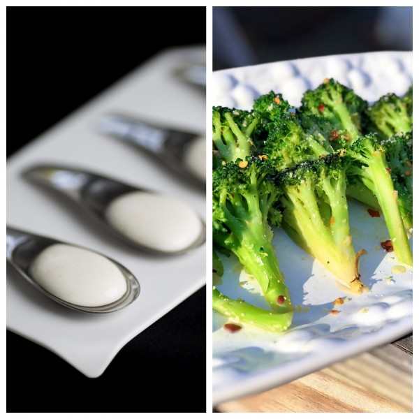 新加坡研究人員現在發現,將俗稱青花菜、綠花椰的西蘭花做成優格,能夠殺死生長在腸道內的癌細胞。(左圖:彭博,右圖:美聯社)