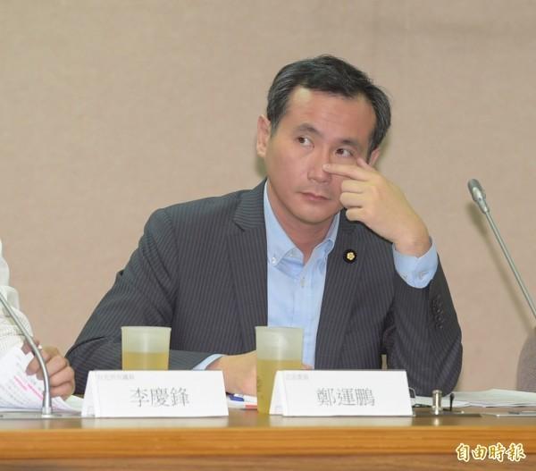 立委鄭運鵬要求以3項重罪將國安局少校警衛官吳宗憲移送法辦。(資料照)