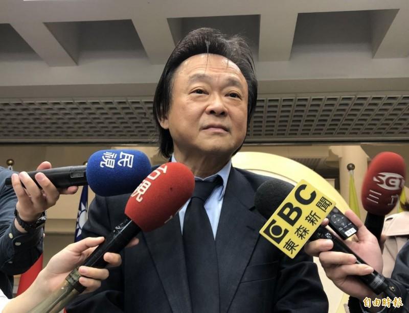 王世堅分析韓國瑜的5點聲明,就是「感謝、推卸、顧忌、宣戰、我願意」11字。(資料照)