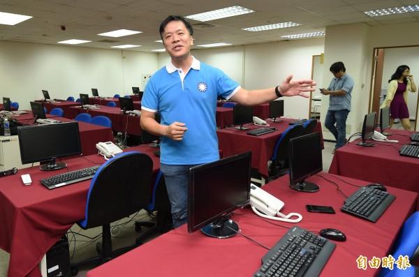 游梓翔表示,與對岸簽署和平協議,是為了希望中華民國獲得對岸承認存在的事實。(資料照,記者廖振輝攝)